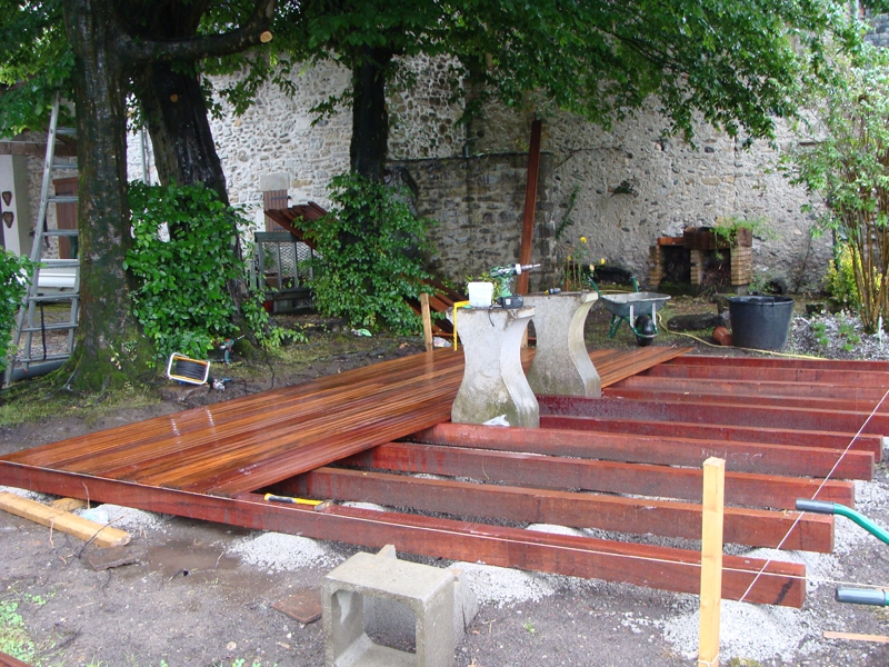 r alisation d 39 une terrasse bois oloron sainte marie 64 despaux cr ation jardins. Black Bedroom Furniture Sets. Home Design Ideas