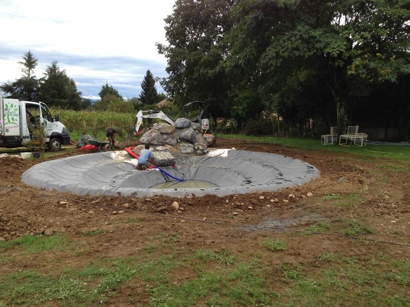 Am nagement d 39 un bassin de jardin meritein 64 despaux cr ation jardins - Amenagement d un jardin ...